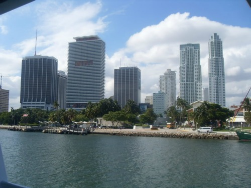 Skyscrapers in Miami, gpx