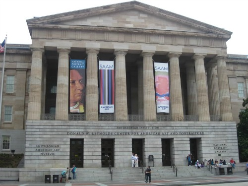 Smithsonian American Art Museum, art museums