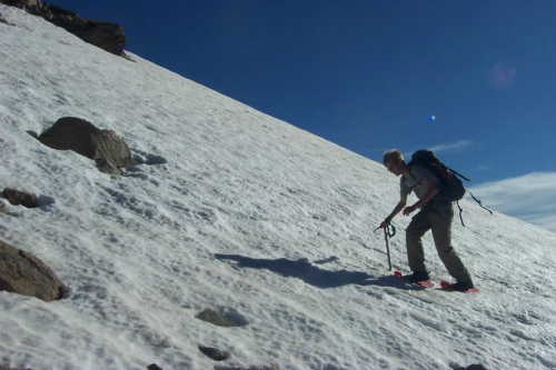 Snowshoes And Ice Axe, backpacking for dummies