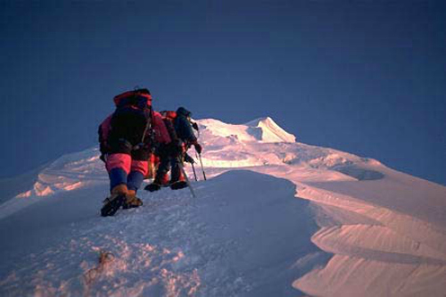 Approaching The South Summit, Mt Everest