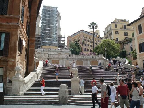 Scale the Spanish Steps, best cheap backpacking in europe