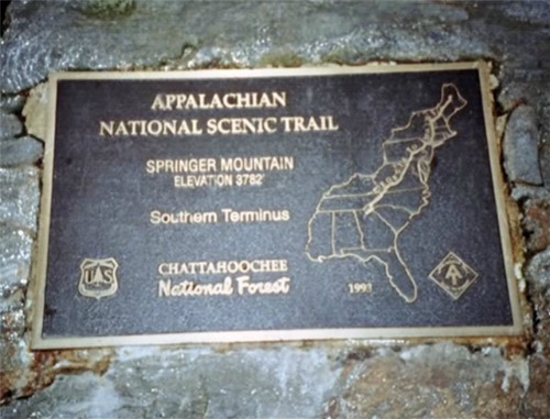 Springer Mountain, Georgia, appalachian trail