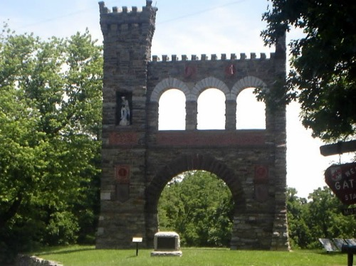 Stone Monument Dedicated to War Correspondents, Harpers Ferry Wv
