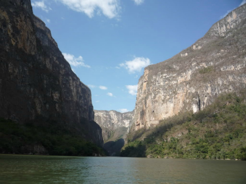 Sumidero Canyon, Backpacking in Mexico