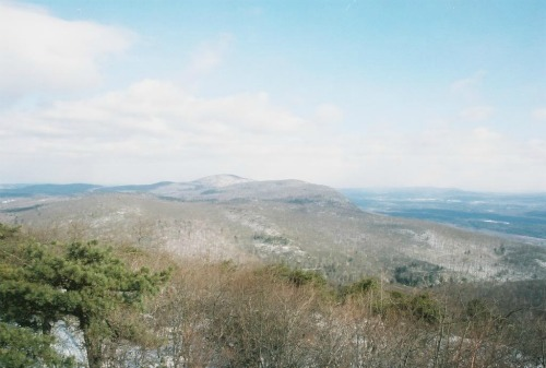 View From Summit Of Bear Mountain, appalachian trail