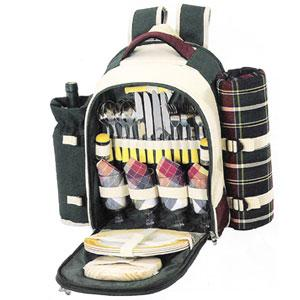 Sutherland Stonington Farms Picnic Backpack for 4