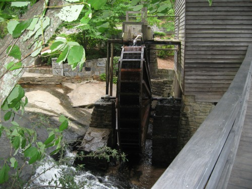The Grist Mill, stone mountain
