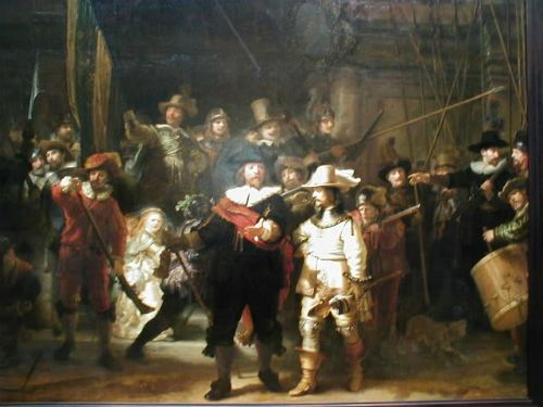 The Night Watch in the Rijksmuseum, best cheap backpacking in europe