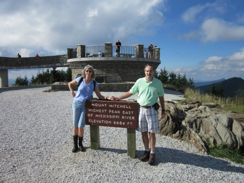 Top of Mount Mitchell, mount mitchell state park