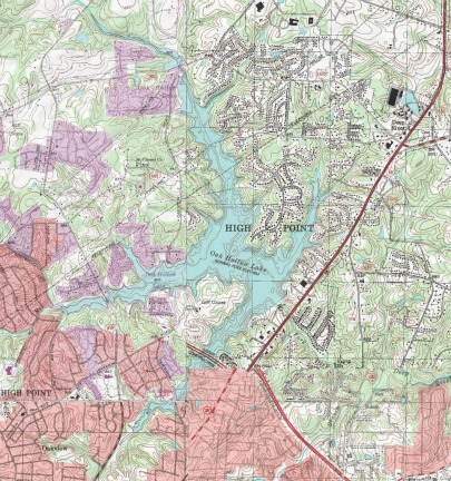 A Topographical Map, backpacking for dummies