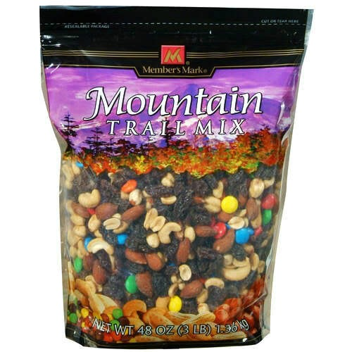 Trail Mix, backpacking food ideas