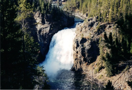 Upper Falls, lightweight backpacking