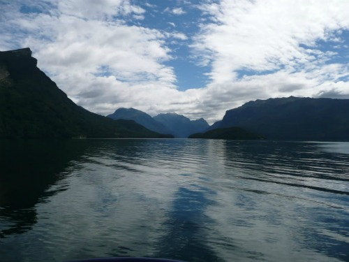 View From Ferry, Milford Track