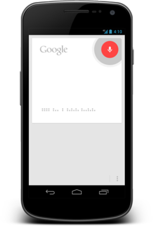 Google Android, Voice Search