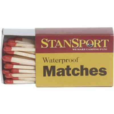Waterproof Matches, Hiking Backpacks