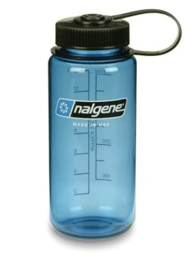 Wide Mouth Water Bottle, Winter Backpacking
