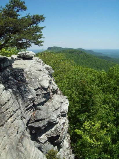 Wolf Rock, cunningham falls state park
