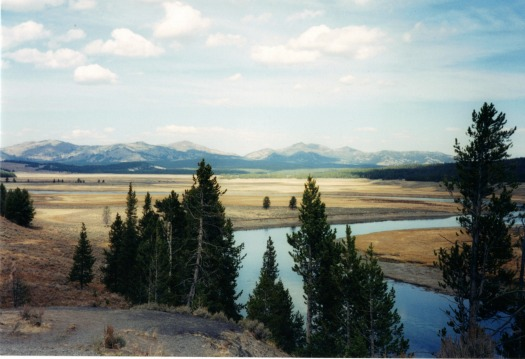 Yellowstone River, lightweight backpacking