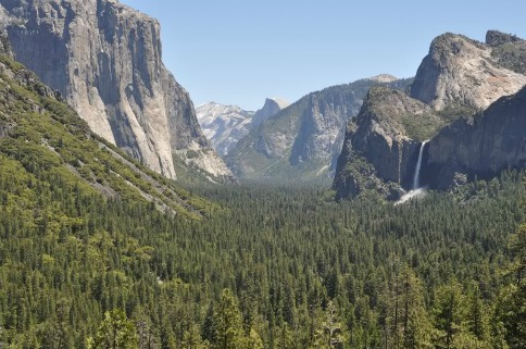 Yosemite Valley, John Muir Trail